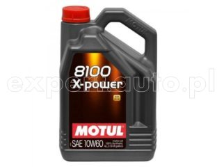 10W60 Motul 8100 X-Power - 4L