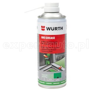 HHS Grease WURTH - biały smar z PTFE